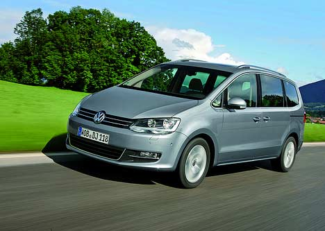 New Volkswagen Sharan 2010. NEW VOLKSWAGEN SHARAN IS