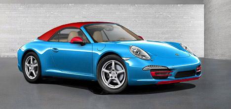 Porsche 911 Blu Edition