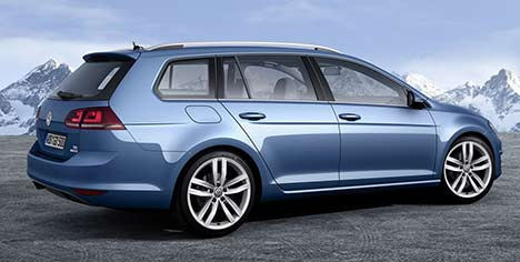 2014 Volkswagen Golf Estate