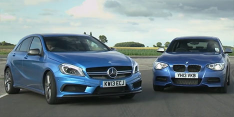 Mercedes A 45 AMG vs BMW M135i