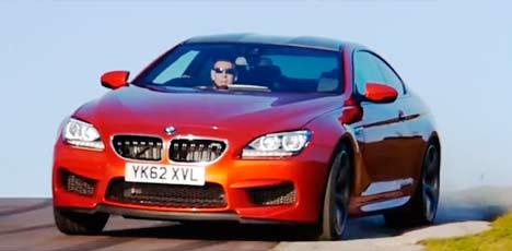 BMW M6 drifting
