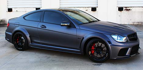 Superior Automotive Design Mercedes C 63 AMG Coupe Black Series