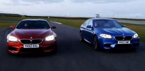 BMW M5 vs M6 Coupe