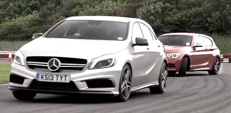 Mercedes-Benz A 45 AMG vs BMW M135i