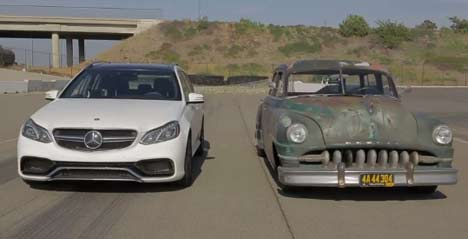 Mercedes E 63 AMG vs Icon Derelict