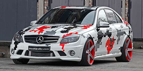 mcchip-dkr MC660 Mercedes-Benz C 63 AMG