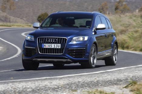 2009 Audi Q7 V12 Tdi. The 1000Nm Audi Q7 V12 TDI is