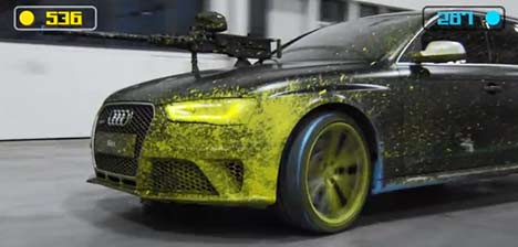 RS 4 paintball