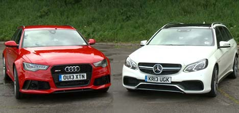 Audi RS 6 vs Mercedes-Benz E 63 AMG