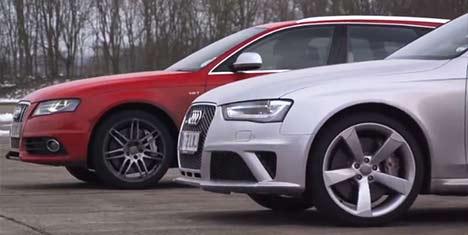 Audi S4 v Audi RS 4