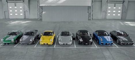 Porsche 911 lineup