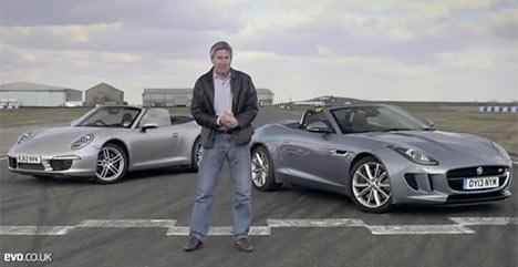 Porsche 911 Cabriolet vs Jaguar F-Type