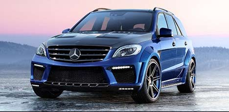 TopCar Mercedes-Benz ML 63 AMG Inferno