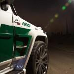 Dubai Police Brabus B63S 700 Widestar