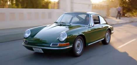 Magnus Walker's 1966 Irish Green Porsche 911