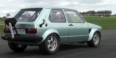 16Vampir VW Golf MK1