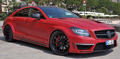 German Special Customs Mercedes CLS 63 AMG