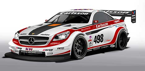Carlsson SLK 340 race car