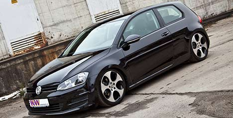 Volkswagen Golf suspension by KW