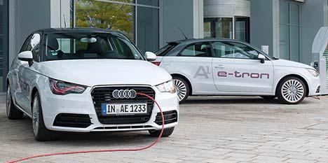 Audi's A1 e-tron