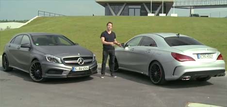 Mercedes A 45 AMG vs CLA 45 AMG