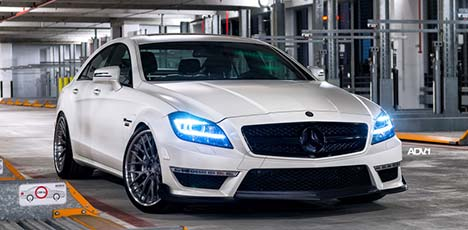 Mercedes-Benz CLS 63 AMG by RENNtech and ADV.1 Wheels