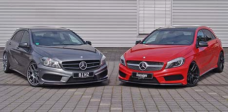 Mercedes-Benz A-Class by Binz and Inden Design