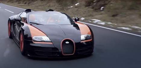 Bugatti Grand Sport Vitesse World Record Car