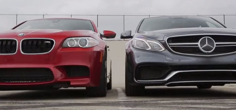 BMW M5 Competition Package vs Mercedes E 63 AMG 4MATIC S-Model