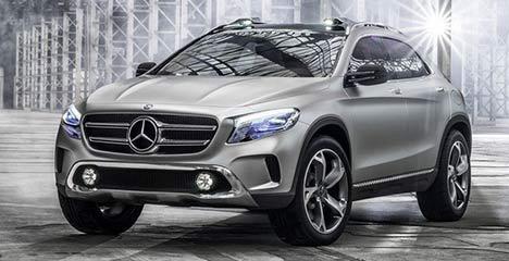 Mercedes-Benz GLA Concept