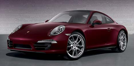 Porsche 911 GUM Red Square Edition