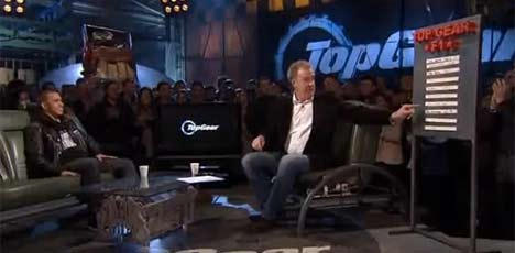 Lewis Hamilton on Top Gear