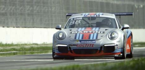 Martini Racing Porsche 911 GT3 Cup car
