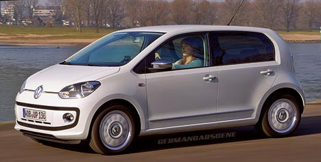 Long-wheelbase Volkswagen up!