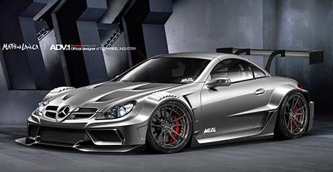 ML24 Mercedes SLK