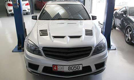Mercedes-Benz C 63 AMG by PP-Performance