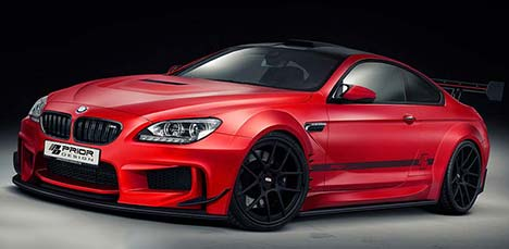 Prior Design PD6XX BMW M6 Coupe