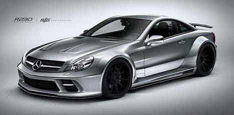 Mercedes-Benz SL Sidewinder