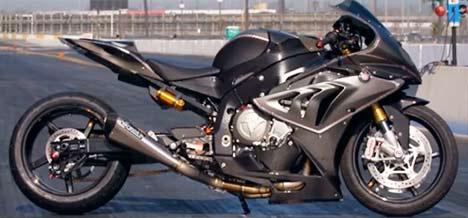 BMW S1000RR drag bike