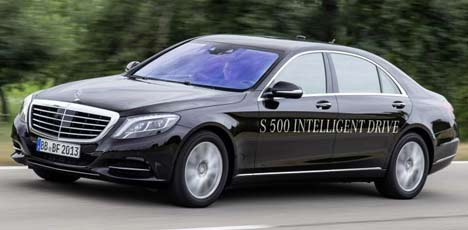 Mercedes-Benz S-Class Intelligent Drive
