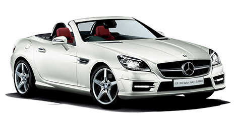 Mercedes-Benz SLK 200 Radar Safety Edition
