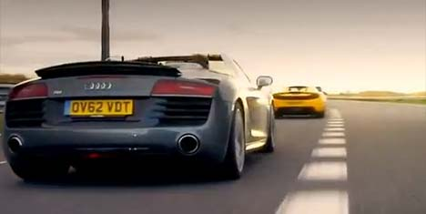 Top Gear supercar test