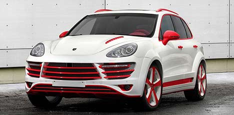 Porsche Cayenne Vantage 2 Red Dragon