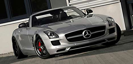 Wheelsandmore supercharged Mercedes-Benz SLS AMG