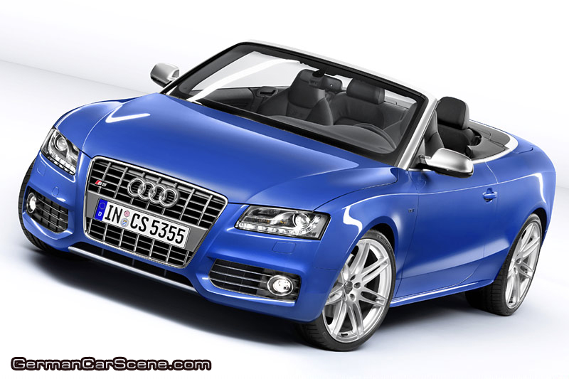 The top-of- the-line model of Audi's new family of convertibles is the S5