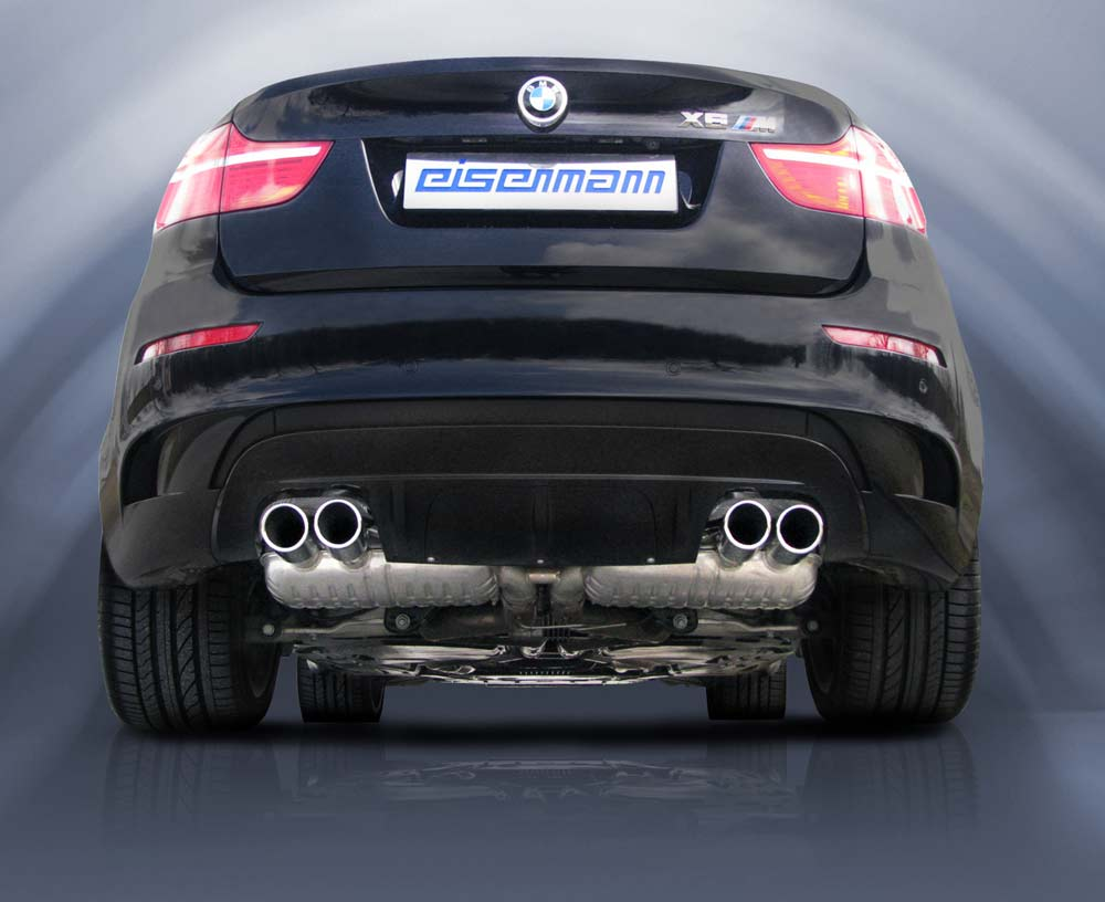 REAR SILENCER FOR BMW X6 M