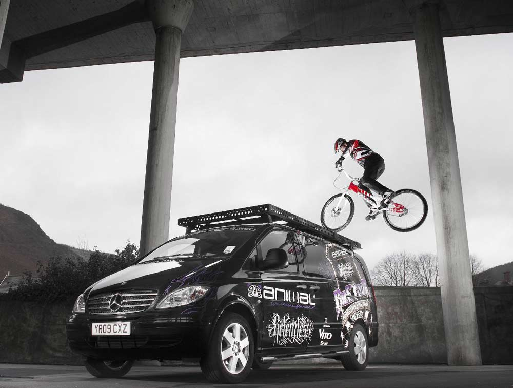 Mercedes Vito Sport. The Vito Sport is sponsoring
