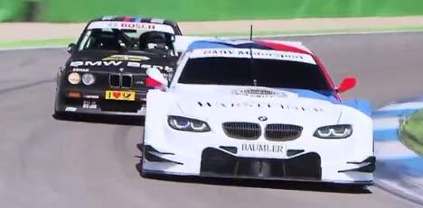 BMW E30 M3 DTM and E92 M3 DTM
