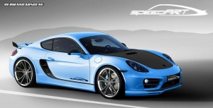 speedART SP81-CR Porsche Cayman