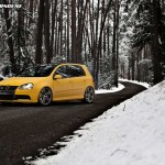 Volkswagen Golf carbon fibre roof